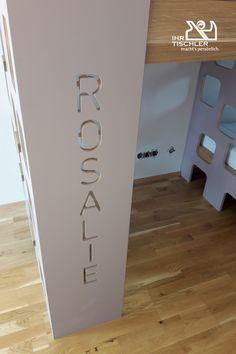 personalisiertes Hochbett der Tischlerei Reisenhofer Home Decor, Carpentry, Platform Beds, Bedroom, Wood, Decoration Home, Room Decor, Interior Design, Home Interiors