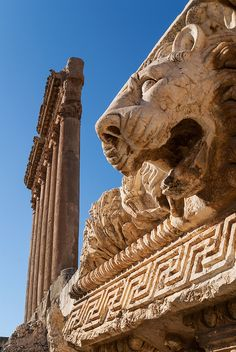 Baalbek, Syria - Explore the World with Travel Nerd Nici, one Country at a Time. http://TravelNerdNici.com