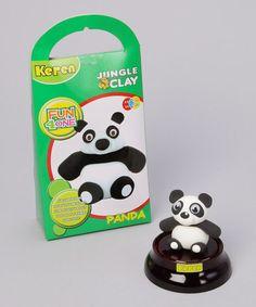 Take a look at this Panda Jungle Clay Kit by Yuka Paris on #zulily today!9