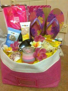 Gift basket for summer time