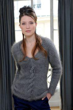 Hunton Pull : Angora › Pull › Femme › Laines Annyblatt
