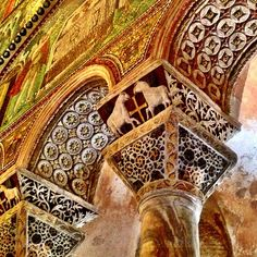 The San Vitale mosaics are simply beautiful - Instagram by @Suzanne Courtney @TheTravelBunny