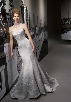 Silver wedding dresses if youre looking for silver wedding silver wedding dresses if youre looking for silver wedding dresses read on weddings pinterest wedding dress weddings and wedding junglespirit Image collections