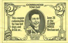 Commander  Tom...Buffalo, New York  Channel 7....