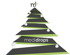 """Check out new work on my @Behance portfolio: """"Christmas Card of Medidrops"""" http://be.net/gallery/32760893/Christmas-Card-of-Medidrops"""