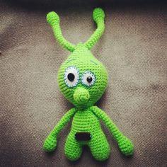 НЛО #вязание #вязаныеизделия #handmade #игруш