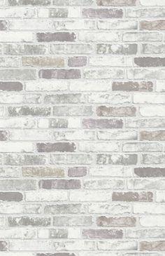 Luxury Erismann Brix Grey Brick Wall Effect Embossed Textured Vinyl Wallpaper for sale online Vinyl Wallpaper, Brick Wallpaper Accent Wall, Look Wallpaper, Stone Wallpaper, Textured Wallpaper, Accent Walls, Wallpaper Ideas, Brick Wallpaper Around Fireplace, Bedroom Wallpaper