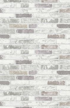 Tapete Brix Erismann Vliestapete 6703-10 670310 Stein Mauer grau weiß