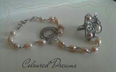 Sterling Silver slave bracelet - The Last Romance