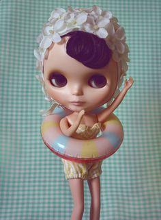 Blythe Doll - Retro Swimmer