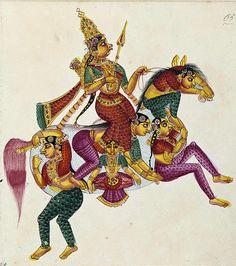 Rati is the Hindu goddess of love, consort of Kama.