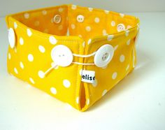 Great boxes, very easy to make  Sewing tutorial is here: http://woolfoodmama.typepad.com/weblog/2010/04/ticky-tacky-little-boxes.html