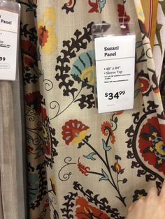World market curtains for kitchen World Market Curtains, India Decor, Window Coverings, Window Treatments, Moroccan Interiors, Living Room Colors, Kitchen Curtains, Wood Cabinets, House Rooms