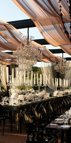 Tablescape ● Outdoor Elegance