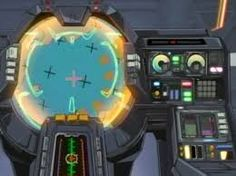 Image result for anime mecha cockpit