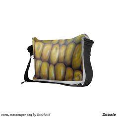 corn, messenger bag
