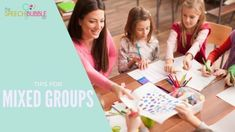 Having a hard time trying to make mixed groups work? Stressing about how to plan or what to target for these types of sessions? Here are two strategies that you can try to help make these groups easier to work with and collect data on! If you're looking for activities that have something for ever...