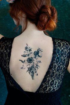 Temporary Art Tattoo DIY by Lana Red Studio #tattoo