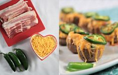 Green Appetizers - Jalapeno Poppers