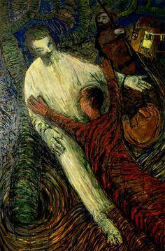O regresso do filho pródigo, Pintura Painel Grande formato original por Alberto Péssimo Grande, Painting, Prodigal Son, Etchings, Dashboards, Pintura, Artists, Painting Art, Paintings