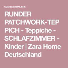 Runder Patchwork Teppich