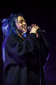 : CHARLOTTE, NC - OCTOBER Singer Billie Eilish performs at Spectrum Center on October 2018 in Charlotte, North Carolina. (Photo by Jeff Hahne/Getty Images) Singer Billie Eilish performs at Spectrum Center on October 2018 in Charlotte, North Carolina. Melanie Martinez, Billie Eilish, North Carolina, John Wick, Elfa, Rapper, On October 3rd, Adele, Music Artists