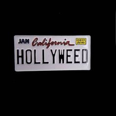 Repost @goodvibe_pinz  Hollyweed Cali plates available for purchase 10$  http://ift.tt/2py5d6u    (Posted by https://bbllowwnn.com/) Tap the photo for purchase info.  Follow @bbllowwnn on Instagram for the best pins & patches!