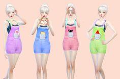 Overalls recolor at Twisim � Sims 4 Updates