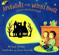 Adventure in the Witchs House: A Book to Read by Flashlight (By Lynn Gordon) On Thriftbooks.com. FREE US shipping on orders over $10. Grab your flashlight and turn the lights out! Follow Audrey and Andrews adventures through the witchs house while shining your flashlight through the plastic windows to project scary and spooky...