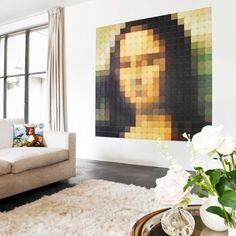 IXXI Wanddekoration Mona Lisa Pixel