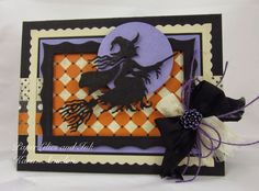 PaperLilies and Ink: FLYING BY WITH A NEW WITCHY DIE!