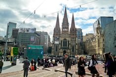 Melbourne City St Paul Catheral