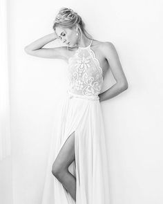 Startingournew week with positive thoughts, a fresh startand this stunning RIFF gown... Happy Sunday