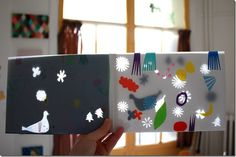beautiful of book of paper cutouts, translucency, matisse-esque
