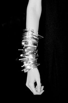 Ann Demeulemeester #style #fashion #accessories