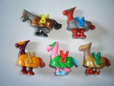 Kinder Surprise Set Funny Castle Tournament Horses Figures Toys Collectibles | eBay