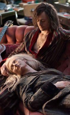 "Tom Hiddleston , and Tilda Swinton , in 2013 Jim Jarmusch's Vampire movie .""Only Lovers Left alive "".."