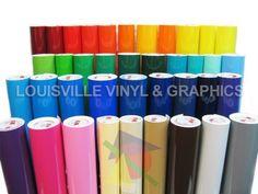 "7 Rolls - 24"" X 10ft Oracal 651 Sign Cutting Vinyl Bundle - *63 Color Choices* #Oracal"