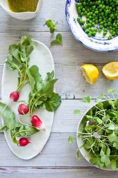 Peas Salad Prep