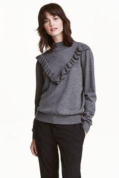 Cienki sweter z kaszmiru | H&M