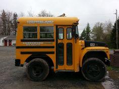 Funniest school bus I've ever seen!