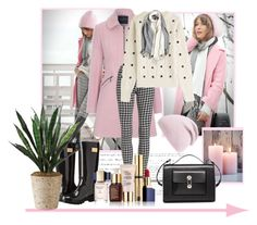 """""""Untitled #556"""" by misaflowers ❤ liked on Polyvore featuring Jane Norman, Preen, Balenciaga, Nicole Miller, Estée Lauder and Phase 3"""