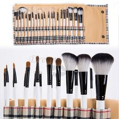 ❤ $14.14!!! 20pcs Makeup Beauty Cosmetic Brushes kit with Plaid case ❤ Purchase link: http://www.aliexpress.com/store/product/Pinceis-Maquiagem-2015-Hot-Sale-20pcs-Professional-Makeup-Brush-Facial-Care-Beauty-Cosmetic-Brushes-Set-with/1627088_32259034740.html