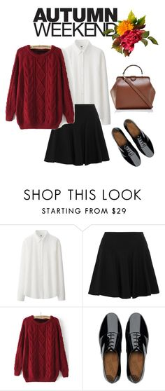 Fall is coming... by bloomwood-15 on Polyvore featuring мода, Uniqlo, DKNY, FitFlop and The Limited
