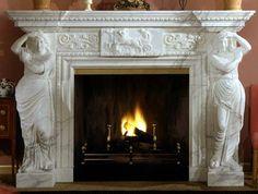 Дешевые порталы для камина, мраморный портал полежаевская