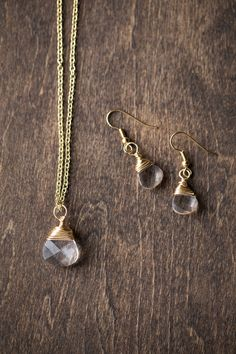 easy #diy jewelry project - makes a great gift!