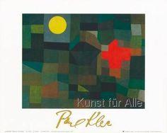 Paul Klee - Incendio la luna piena, 1933