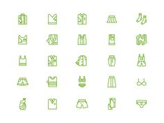 Icon series on Behance