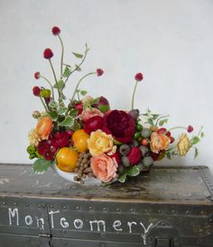 Add some persimmons to your fall floral arrangements