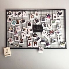 Photo frame display, collage picture frames, polaroid wall, kitchen set up, Photo Frame Display, Collage Picture Frames, Photo Displays, Polaroid Pictures Display, Polaroid Ideas, Room Decor Bedroom, Living Room Decor, Photowall Ideas, Kitchen Set Up